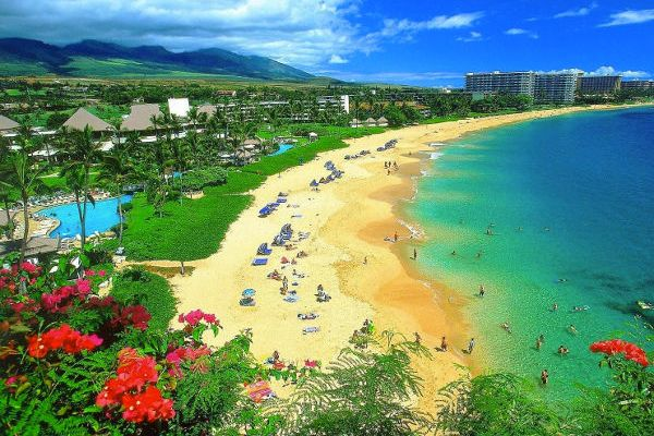 Hd Wallpapers Hawaii Beach Desktop Wallpaper Images Kaanapali 1680x1050 Wallpaper
